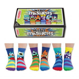 Mini Mashers box and socks