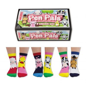 Pen Pals box and socks